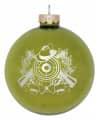 Christbaumkugel mit Schützenmotiv - Farbe - grün