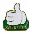 """Thumbs Up Pin """"Schützenfest"""""""