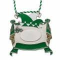 Karnevalsorden - Vorhang auf - Farbe - grün-weiß