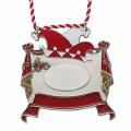 Karnevalsorden - Vorhang auf - Farbe - rot-weiß