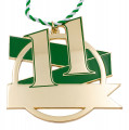 Jubiläumsorden - 11 Jahre - Farbe - grün