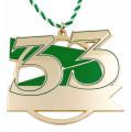Jubiläumsorden - 33 Jahre - Farbe - grün