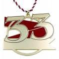 Jubiläumsorden - 33 Jahre - Farbe - rot