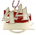 Jubiläumsorden - 44 Jahre - Farbe - rot