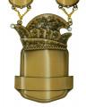 """Prinzenkette """"Leto"""" - Farbe - altgold"""