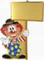 "Karnevalspin Clown ""Lou"""
