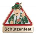 """Achtung """"Schützenfest"""" - Pin"""