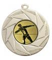 "Medaille ""Briareos"" Ø 50 mm inkl. Wunschemblem und Kordel - Farbe - gold"