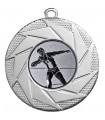 "Medaille ""Briareos"" Ø 50 mm inkl. Wunschemblem und Kordel - Farbe - silber"