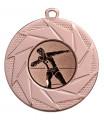 """Medaille """"Briareos"""" Ø 50 mm inkl. Wunschemblem und Kordel - Farbe - bronze"""