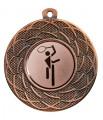 """Danke Medaille """"Gyges"""" Ø 50 mm inkl. Wunschemblem und Kordel - Farbe - bronze"""