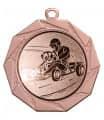 """Danke Medaille """"Kottos"""" Ø 70 mm inkl. Wunschemblem und Kordel - Farbe - bronze"""