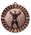 "Medaille ""Steropes"" Ø 70 mm inkl. Wunschemblem und Kordel - Farbe - bronze"