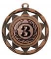 """Danke Medaille """"Okeanos"""" Ø 50 mm inkl. Wunschemblem und Kordel - Farbe - bronze"""