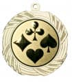 "Medaille ""Kreios"" Ø 70 mm inkl. Wunschemblem und Kordel - Farbe - gold"