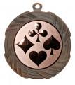 """Medaille """"Kreios"""" Ø 70 mm inkl. Wunschemblem und Kordel - Farbe - bronze"""