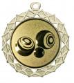 "Medaille ""Hyperion"" Ø 70 mm inkl. Wunschemblem und Kordel - Farbe - gold"