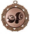 "Medaille ""Hyperion"" Ø 70 mm inkl. Wunschemblem und Kordel - Farbe - bronze"