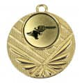 "Medaille ""Momos"" Ø 50 mm inkl. Wunschemblem und Kordel - Farbe - gold"
