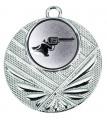 "Medaille ""Momos"" Ø 50 mm inkl. Wunschemblem und Kordel - Farbe - silber"