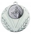 """Medaille """"Geras"""" Ø 50 mm inkl. Wunschemblem und Kordel - Farbe - silber"""