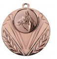 """Medaille """"Geras"""" Ø 50 mm inkl. Wunschemblem und Kordel - Farbe - bronze"""