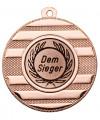 "Medaille ""Keren"" Ø 50 mm inkl. Wunschemblem und Kordel - Farbe - bronze"
