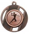 """Medaille """"Thanatos"""" Ø 50 mm inkl. Wunschemblem und Kordel - Farbe - bronze"""