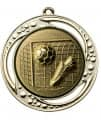 "Danke Medaille ""Tartaros"" Ø 70 mm inkl. Aufkleber und Kordel - Farbe - gold"