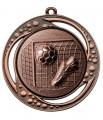 "Danke Medaille ""Tartaros"" Ø 70 mm inkl. Aufkleber und Kordel - Farbe - bronze"