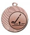 "Medaille ""Apate"" Ø 40 mm inkl. Wunschemblem und Kordel - Farbe - bronze"