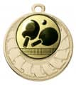 """Medaille """"Eris"""" Ø 40 mm inkl. Wunschemblem und Kordel - Farbe - gold"""