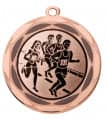 "Medaille ""Lachesis"" Ø 70 mm inkl. Wunschemblem und Kordel - Farbe - bronze"