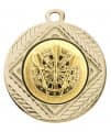 "Medaille ""Pontos"" Ø 40 mm inkl. Wunschemblem und Kordel - Farbe - gold"