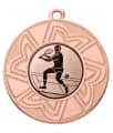 "Danke Medaille ""Ourea"" Ø 50 mm inkl. Wunschemblem und Kordel - Farbe - bronze"