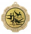 "Medaille ""Thaumas"" Ø 70 mm inkl. Wunschemblem und Kordel - Farbe - gold"
