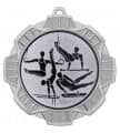 "Medaille ""Thaumas"" Ø 70 mm inkl. Wunschemblem und Kordel - Farbe - silber"