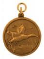 """Jagdmedaille """"Ente"""" - Ausführung - bronze"""