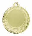 "Medaille ""Olympia"" Ø 40mm mit Wunschemblem und Band - Farbe - gold"