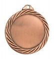 """Medaille """"Passaron"""" Ø 32mm mit Wunschemblem und Band - Farbe - bronze"""