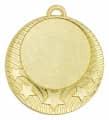 """Medaille """"Pydna"""" Ø 70mm mit Wunschemblem und Band - Farbe - gold"""
