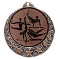 """Turn Medaille """"Brixia"""" Ø 32mm mit Wunschemblem und Band - Farbe - bronze"""