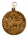 """Jagdmedaille """"Fuchs"""" - Ausführung - bronze"""