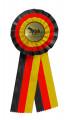 Schleife G107 Länderrosette 105mm - Farbe - deutsch (schwarz-rot-gold)
