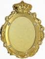 Königsorden 3D-Relief geprägt - Ausführung - gold