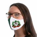 Wiederverwendbare Mund- und Nasenmaske mit Schützenmotiv - für Damen & Kinder