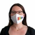 """Wiederverwendbare Mund- und Nasenmaske mit Motiv """"Helau"""" - für Damen & Kinder"""