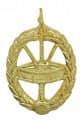 Trommelabzeichen 30,1mm - Farbe - gold