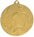 "Medaille ""Eishockey"" Ø 50mm mit Band - Farbe - Gold"