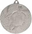"""Medaille """"Eishockey"""" Ø 50mm mit Band - Farbe - Silber"""